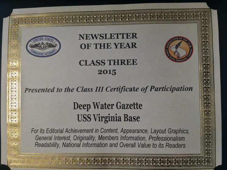 Base Newsletter Award